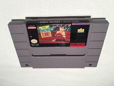 David Crane's Amazing Tennis (Super Nintendo SNES) Game Cartridge Vr Nice!