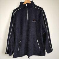 Gola Vintage Retro 90s Pullover Sweatshirt Fleece Jumper Tracksuit Zip Size L