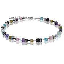 Collane e pendagli di bigiotteria multicolore con pietra in pietra principale cristallo