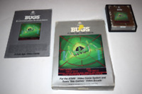 Bugs Atari 2600 Video Game Complete in Box