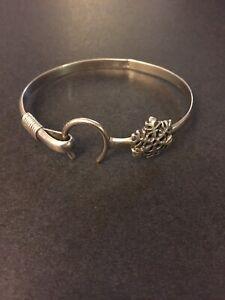 DK Dave Kidd Caribbean Sterling Silver Hook Bracelet