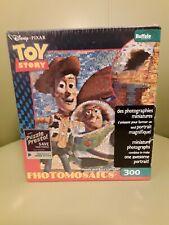 New Photomosaic Disney PixarToy story puzzle featuring Woody  & Buzz Lightyear