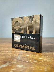 Olympus OM Genuine Skylight 1A Filter - Case - Box - New Old Stock