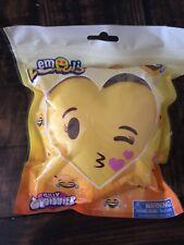 New Genuine Silly Squishies Donut Emoji Kisses