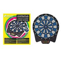 Unicorn Electronic Soft Tip LCD Dartboard - 6 Darts Included