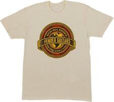 Fender Worldwide Logo T-Shirt Tan, XXL