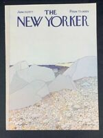 COVER ONLY ~ The New Yorker Magazine, June 20, 1977 ~ Gretchen Dow Simpson