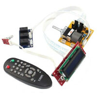 Assembled Motor Remote Control Preamp ALPS Volume Pot With LCD Display YJ0033