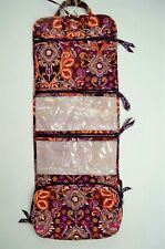 Vera Bradley Hanging Organizer Cosmetic Bag Safari Sunset with Multiple Pockets