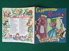 CAPPUCCETTO ROSSO , Ed. Boschi Collana INFANZIA/1 (SD) Libro ill. F.Gamba
