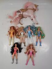 LOT OF VINTAGE MATTEL SHE-RA PRINCESS OF POWER TOYS ACTION FIGURES MOTU HE-MAN