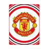 Manchester United Football Club Pulse Design Fleece Blanket