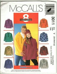McCall's PolarGear - Misses, Men's and Teen Pullover Top and Hat Sewing Pattern