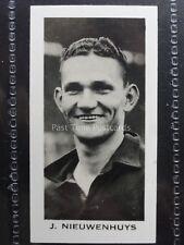 No.19 NIEUWENHUYS - LPOOL English & Scottish Football Stars - John Sinclair 1935