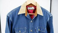 SUGAR CANE union made TOYO denim indigo workwear chore shirt Large