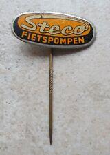 Badge épinglette Steco 1960 Cyclisme Pompe à vélo NL 1960