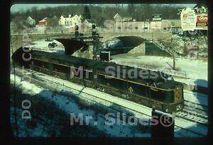 Duplicate Slide EL Erie Lackawanna ALCO FA1 731 & 2 Action