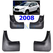 FRONT+REAR ANTIBECCHEGGIO Set adatto per PEUGEOT 2008 Fango Flap Splash guardie FENDER