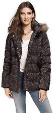 db201b4c31 Juicy Couture Szl Gunmetal Morrison Leopard Puffer Jacket