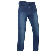 Oxford Barton Jeans, Kevlar Lined Motorcycle Jean. CE App Echo Wash Long 34""