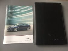 JAGUAR XF BRIEF OWNERS MANUAL HANDBOOK & FOLDER 2011-2015 X250 2.2 3.0 5.0 V8