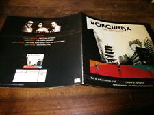MORCHEEBA - Plan média / Press kit !!! THE ANTIDOTE !!!