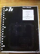 Payloader Hough 510 515 Wheel Loader PARTS Manual  Book PC-510/515-4 PLAIN