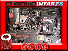 RED 99 00 01 02 03-05 PONTIAC GRAND AM/ALERO 3.4 3.4L V6 COLD AIR INTAKE KIT 2p