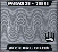 Paradiso-shine cd maxi single eurodance holland Ferry Corsten
