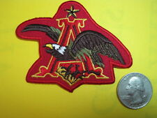 BEER PATCH BUDWEISER EAGLE SMALL SIZE LOOK AND BUY IT NOW! NEW LOWER PRICE!!!