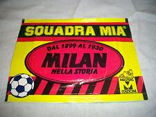 STOCK LOTTO 5 BUSTINE FIGURINE MILAN SQUADRA MIA 1991 SIGILLATE + PANINI