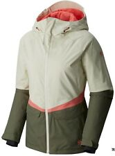Mountain Hardwear Dry Q Returnia Ski Jacket Snowboard Stone Green Womens XS
