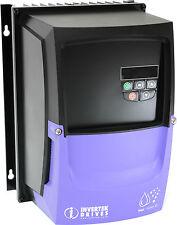 Invertek 1.5kW Motor Inverter 1 phase in, 3 phase out, ODE-3-120070-1F1X, AC