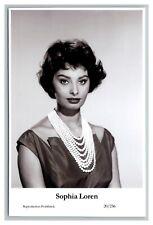 Sophia Loren (C) Swiftsure Postcard year 2000 modern print 20/236 glamour photo