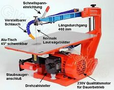 HEGNER Multicut-2S  mit elektr. Drehzahlregelung Dekupiersäge Feinschnittsäge