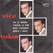 VICE VUKOV-FREDDY QUINN/EDUARDO VIANELLO COVER SONGS-YUGOSLAV PS 45rpm EP 1966
