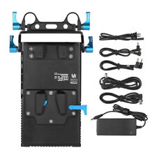 FOTGA DP500III 2 in 1 V-mount Battery Plate Adapter Charger w/ 15mm Rod Clamp