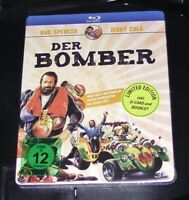 DER BOMBER BUD SPENCER LIMITED EDITION MIT O-CARD UND BOOKLET BLU RAY NEU & OVP