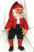 "Vintage Arne Hasle Gnome Doll Norwegian Christmas Elf Troll 18"""