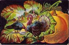 (q45) Postcard: Thanksgiving Greetings