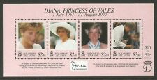 Solomon Is 1998 Princess Diana Memorial ss--Attractive Topical (867) MNH