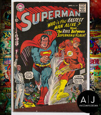 Superman #199 VG 4.0 (DC)
