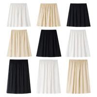 Ladies Modal Half Slip Safety Skirt Dress Petticoat Underskirt Underdress Casual