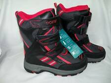 NEW Boys Size 2 Sporto Winter Boots Heavily Padded Lining Very Warm