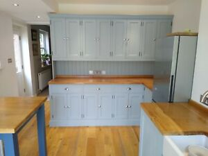 Handmade Bespoke Solid Wood Kitchens, Larders, Tables, Bookcases, Wardrobes