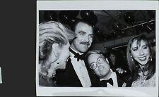 Tom Selleck (American Actor), Allan Carr (English Comedian) ORIGINAL PHOTO