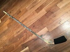 2002 VILLE NIEMINEN PITTSBURGH PENGUINS GAME USED STICK #10 SIGNED NICE UNCRACKE
