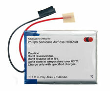 Li-Polymer Akku für Philips Sonicare Airfloss HX8140 HX8230 HX8240 Munddusche