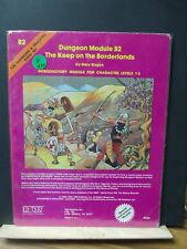 Z420) D&D TSR B2 THE KEEP ON THE BORDERLANDS 1980 NO;9034