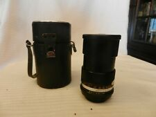 Vivitar Auto 135mm f/2.8. Manual Focus M42 Screw Mount Lens With Case